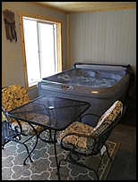 cabins with hot tubs